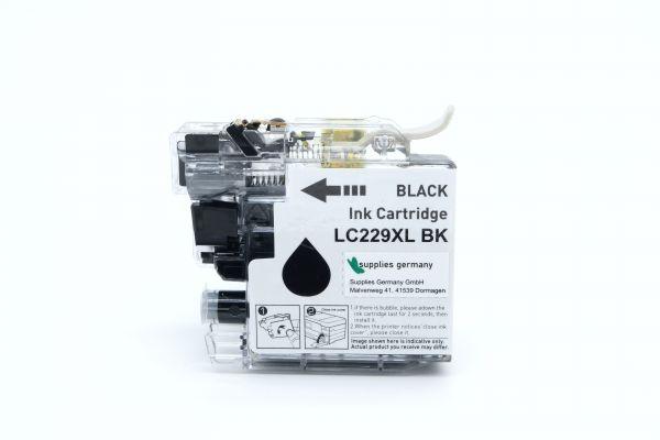 Alternativ zu Brother LC-229XLBK Druckerpatrone schwarz