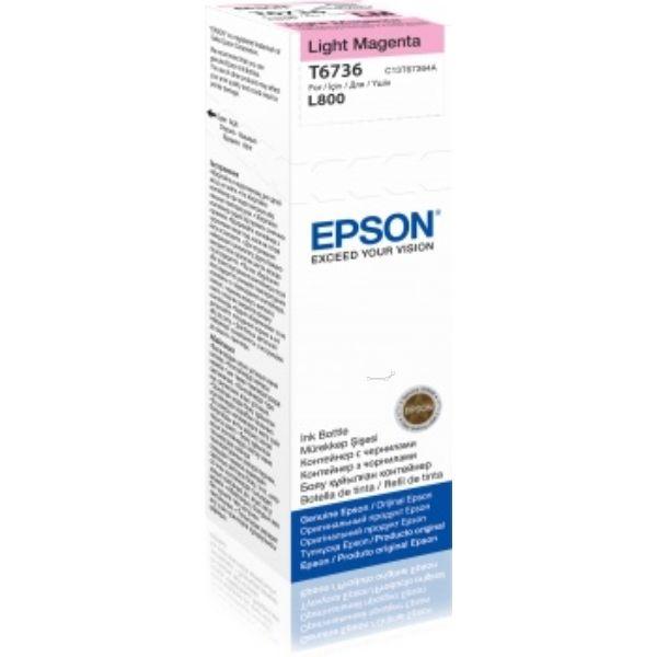 Epson T6736 Original Tintenpatrone magenta hell