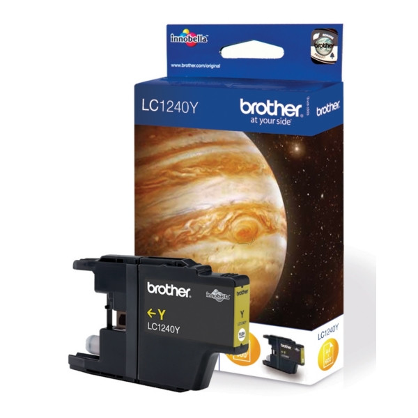 Brother Ink LC 1240 Yellow 0,6k (LC1240Y)