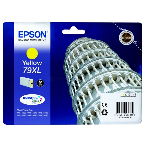Epson 79XL Original Tintenpatrone gelb