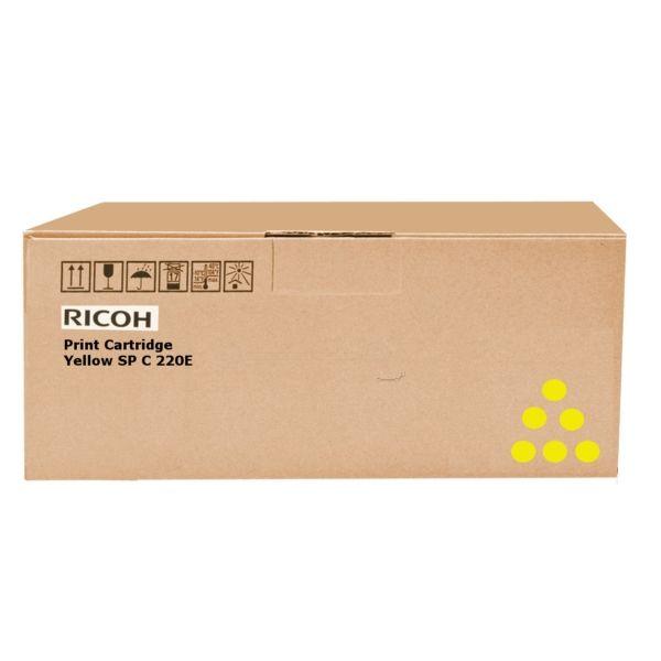 Ricoh 407546 Original Toner gelb