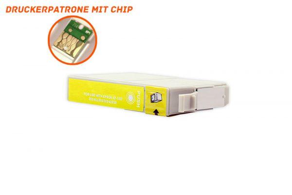 Alternativ zu Epson 502XL Druckerpatrone gelb