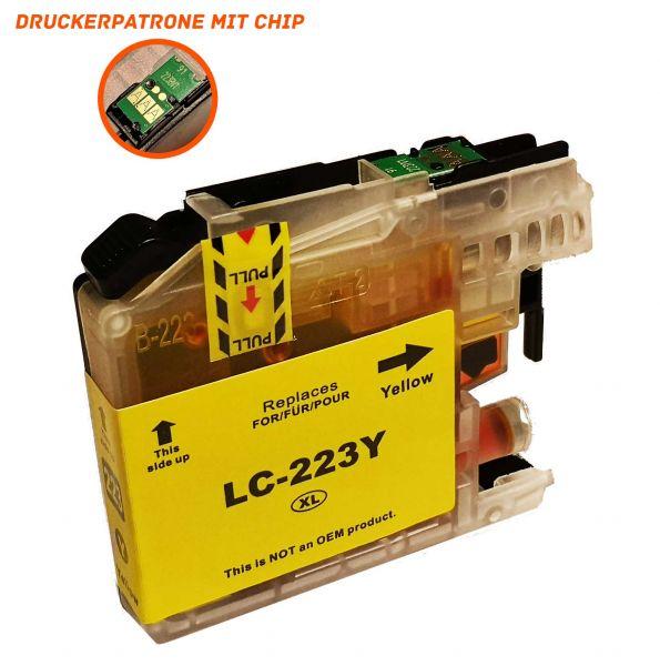 Alternativ zu Brother LC-223Y Druckerpatrone gelb