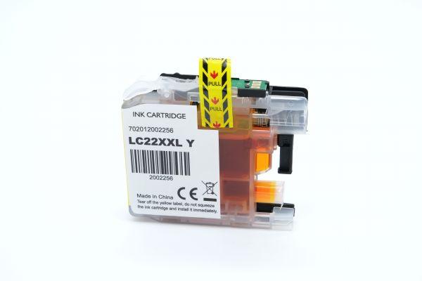 Alternativ zu Brother LC-22EY Druckerpatrone gelb