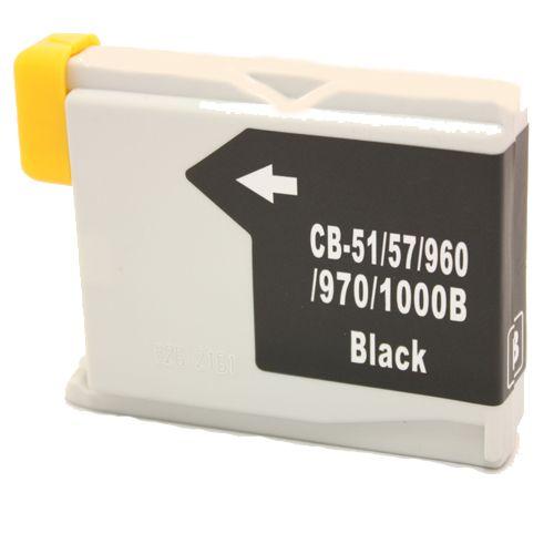 Alternativ zu Brother LC-970BK Tinte schwarz