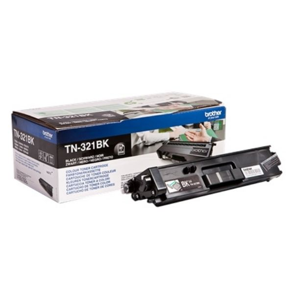 Brother TN-321BK Original Toner-Kit schwarz