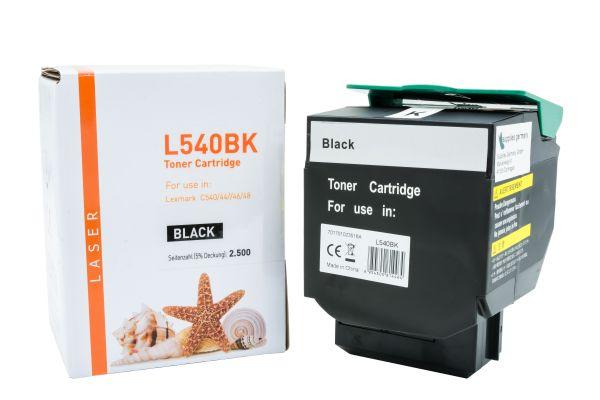 Alternativ zu Lexmark C540H1KG Toner schwarz