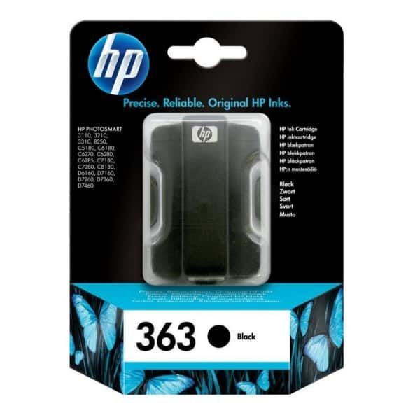 HP 363 Original Tintenpatrone schwarz