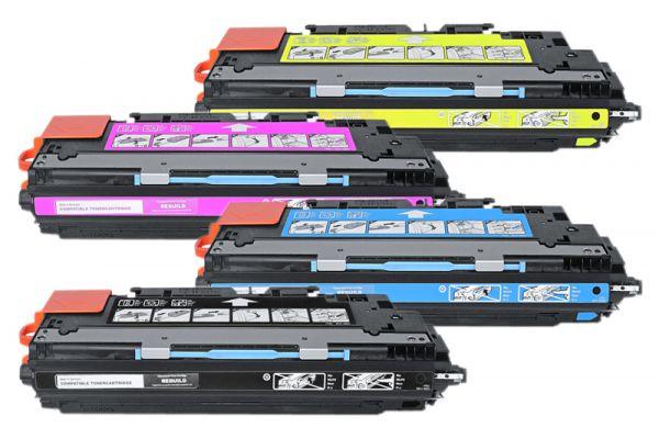 Alternativ zu HP Q2670A - Q2673A Toner Spar-Set (4 Stück)
