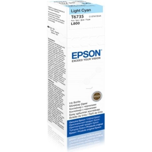 Epson T6735 Original Tintenpatrone cyan hell