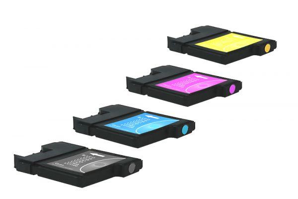 Alternativ zu Brother LC-1100VALBP Tinte Multipack Bk,C,M,Y
