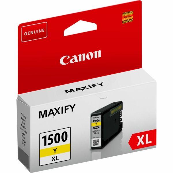 Canon PGI-1500XLY Original Tintenpatrone gelb
