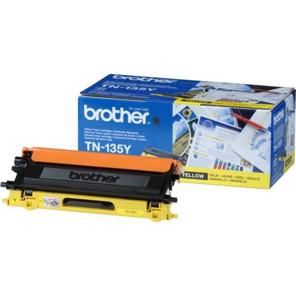 Brother TN-135Y Original Toner gelb