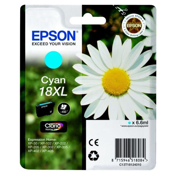 Epson 18XL Original Tintenpatrone cyan