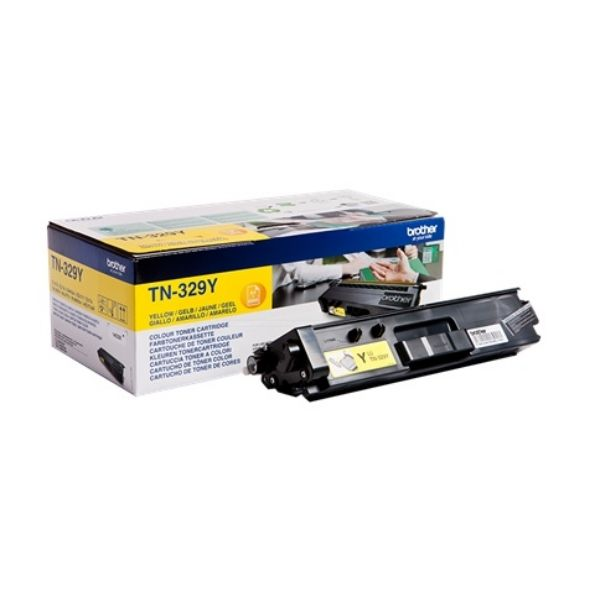 Brother TN-329Y Original Toner-Kit gelb