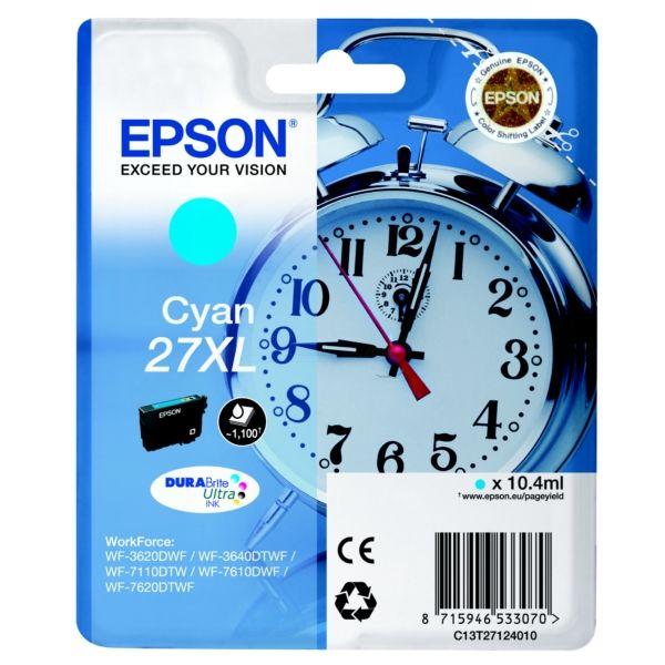Epson 27XL Original Tintenpatrone cyan