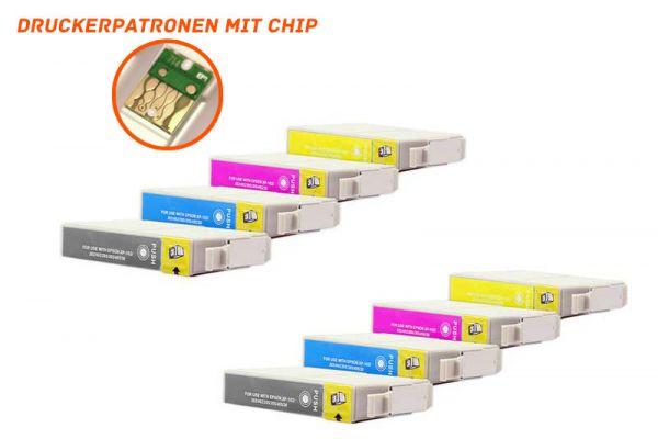 Alternativ zu Epson 18XL Druckerpatrone Multipack Bk,C,M,Y Doppelpack