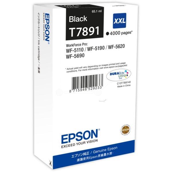 Epson T7891 Original Tintenpatrone schwarz XXL