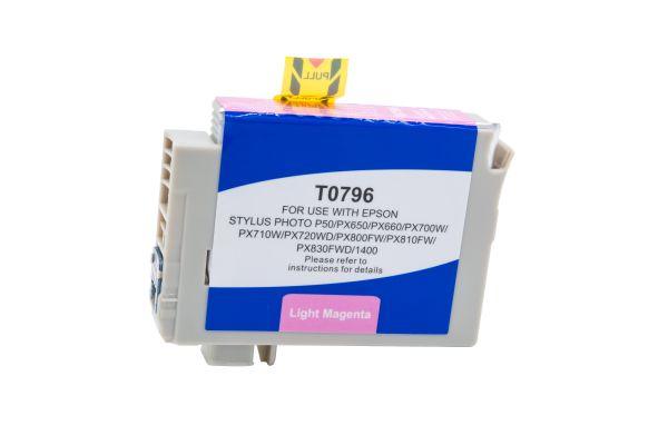 Alternativ zu Epson T0796 Druckerpatrone magenta hell