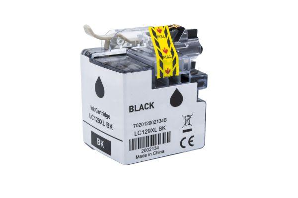 Alternativ zu Brother LC-129XLBK Druckerpatrone schwarz