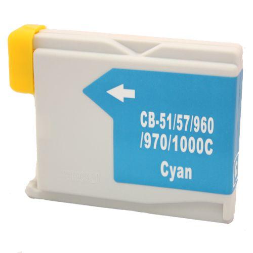 Alternativ zu Brother LC-1000C Druckerpatrone cyan