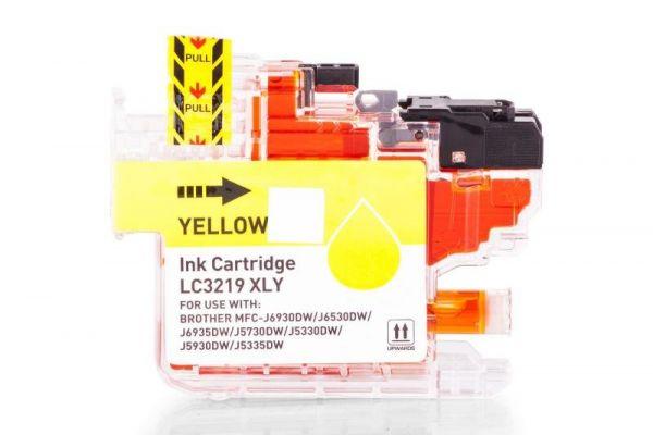 Alternativ zu Brother LC-3219XLY Druckerpatrone gelb