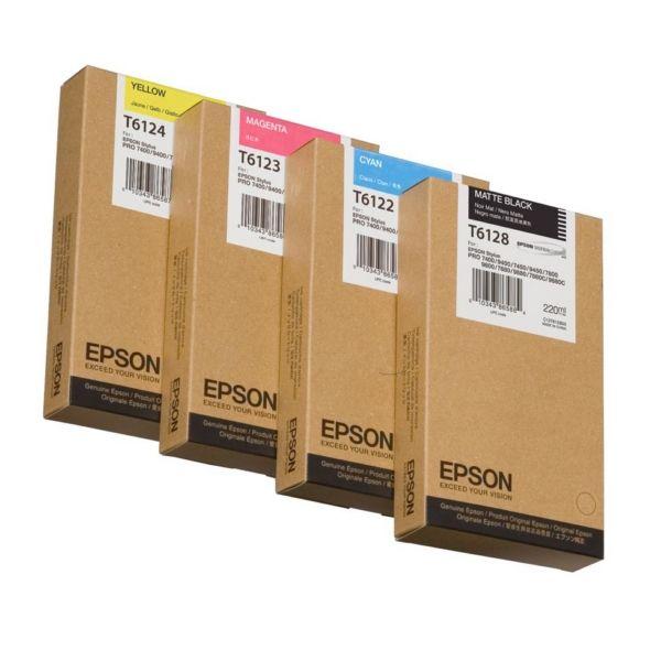 Epson T6123 Original Tintenpatrone magenta