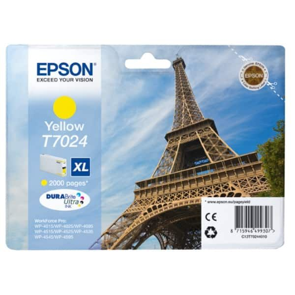Epson T7024 Original Tintenpatrone gelb XL