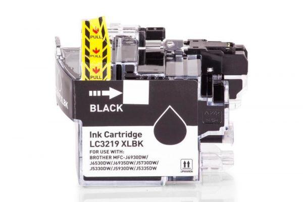 Alternativ zu Brother LC-3219XLBK Druckerpatrone schwarz