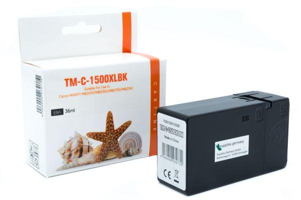 Alternativ zu Canon PGI-1500 XLBK Druckerpatrone schwarz