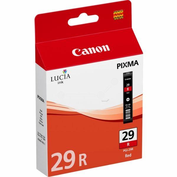 Canon PGI-29R Original Tintenpatrone rot