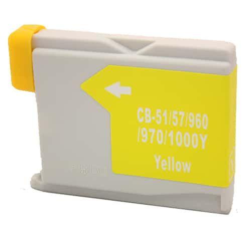 Alternativ zu Brother LC-1000Y Druckerpatrone gelb