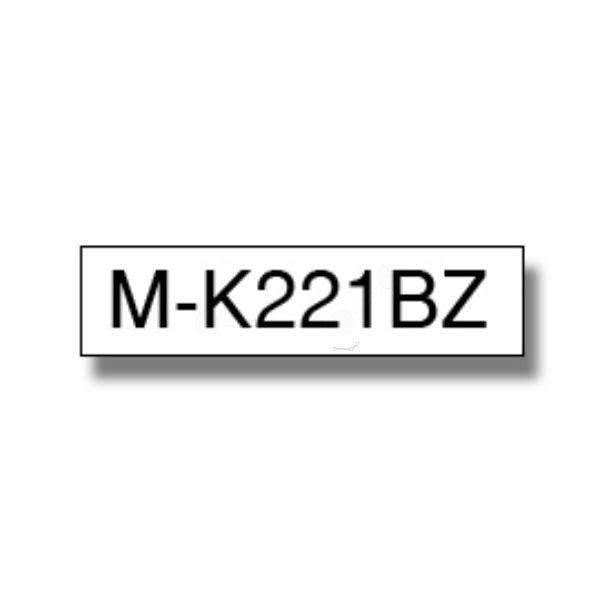 Brother MK-221BZ Original P-Touch schwarz auf weiss