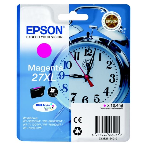 Epson 27XL Original Tintenpatrone magenta