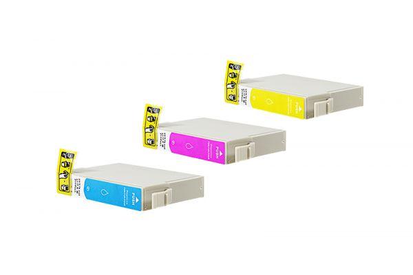 Alternativ zu Epson T1306 Druckerpatronen C,M,Y XL