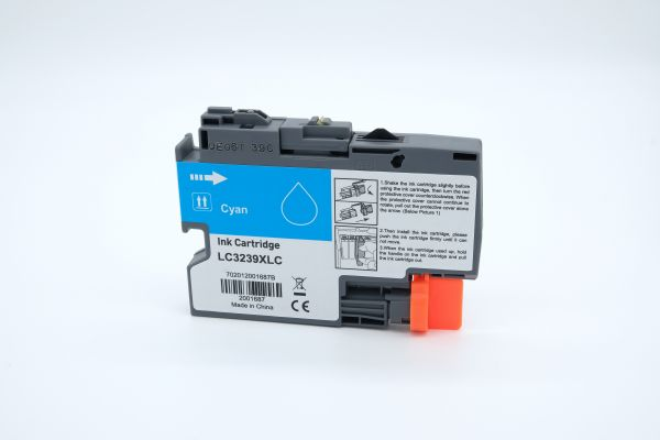 Alternativ zu Brother LC-3239XLC Druckerpatrone cyan