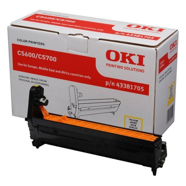 OKI 43381705 Original Drum Kit gelb