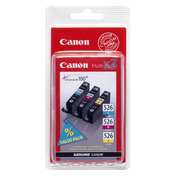 Canon 526 Original Tintenpatrone MultiPack C,M,Y Blister Multi-Tag