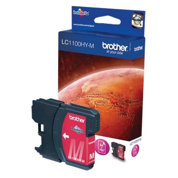 Brother LC-1100HYM Original Tintenpatrone magenta High-Capacity