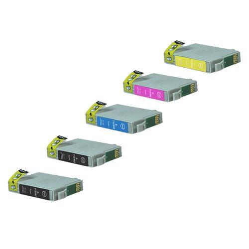 Alternativ zu Epson T0715 Druckerpatrone MultiPack Bk,C,M,Y