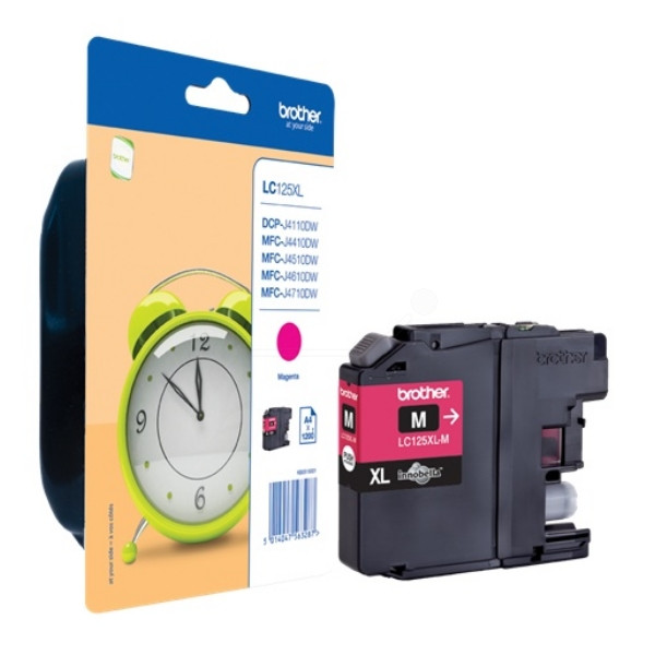 Brother Ink LC 125XL Magenta 1,2k (LC125XLM)