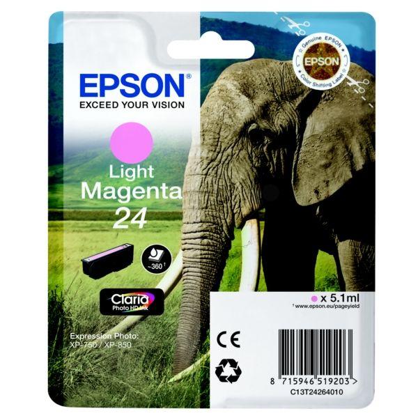 Epson 24 Original Tintenpatrone magenta hell