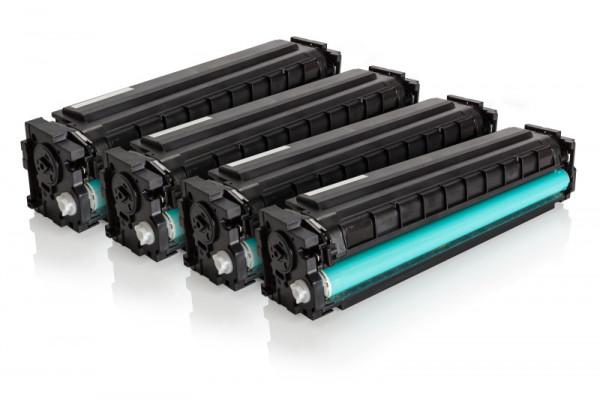 Alternativ zu HP CF201X Toner Multipack BK,C,M,Y