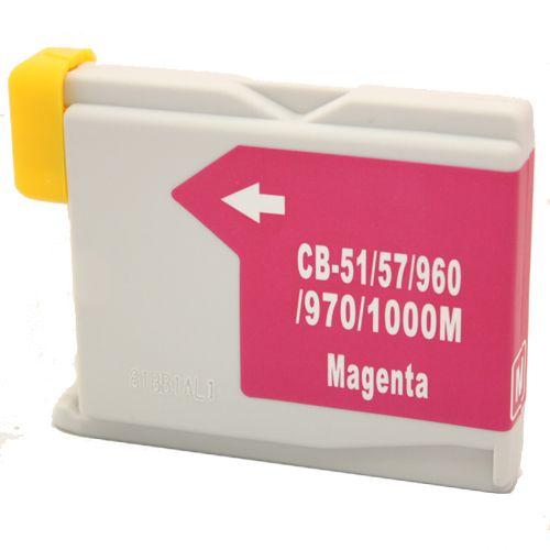 Alternativ zu Brother LC-1000M Druckerpatrone magenta