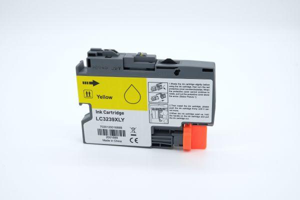 Alternativ zu Brother LC-3239XLY Druckerpatrone gelb