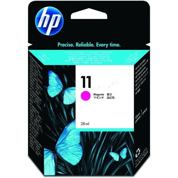 HP 11 Original Tintenpatrone magenta