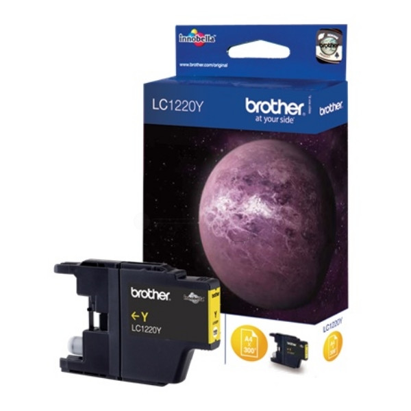 Brother Ink LC 1220 Yellow (LC1220Y) 0,3k