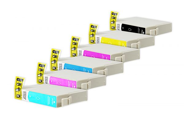 Alternativ zu Epson T0807 Tinte Multipack Bk,C,M,Y,LC,LM