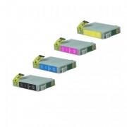 Epson T1285 kompatibel Tintenpatrone MultiPack Bk,C,M,Y