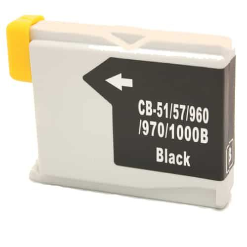 Alternativ zu Brother LC-1000BK Druckerpatrone schwarz